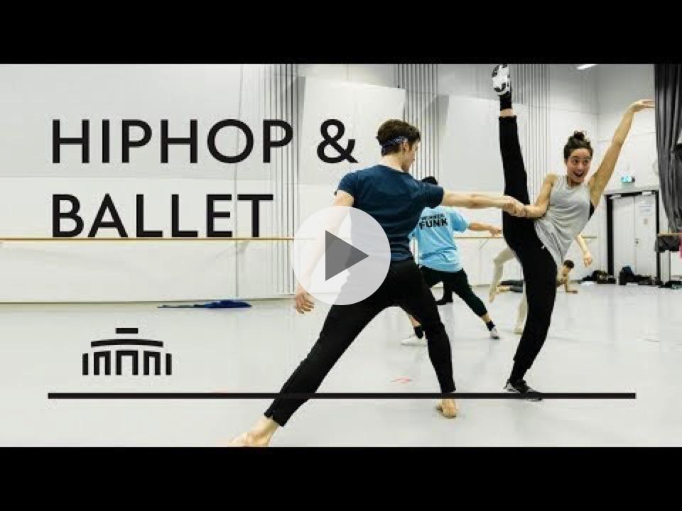 This how you bring Hiphop and Ballet together