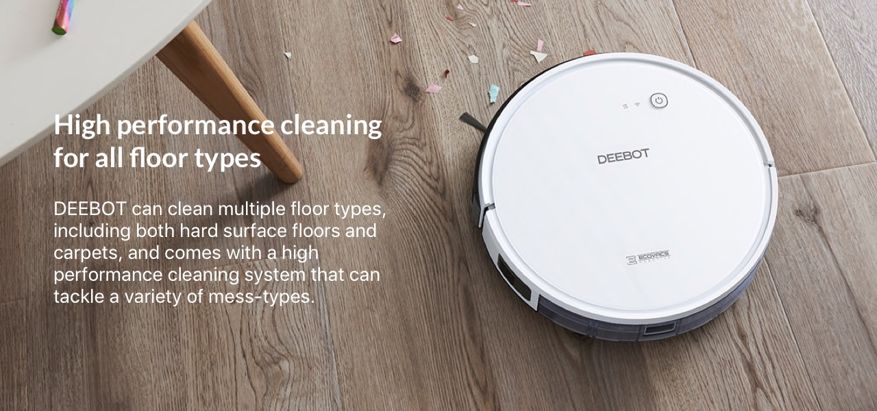 High performance cleaning for all floor types
