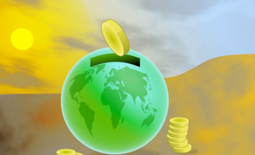 Grüne Wirtschaft Nachhaltigkeit Klima Finanzierung