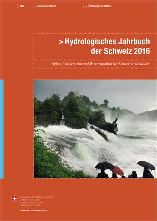 Hydrologisches Jahrbuch der Schweiz 2016