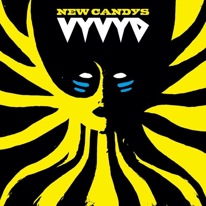 New Candys Vyvyd album cove4 artwork